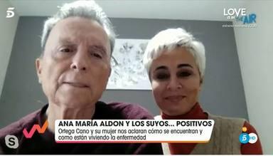 Ana María Aldón y Ortega Cano dan la última hora sobre su salud tras su positivo en Covid-19