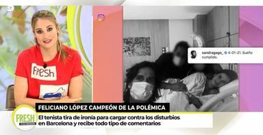 Alba Carrillo ataca a Feliciano López