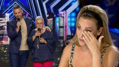 Edurne lágrimas 'Got Talent'