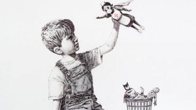 Un Banksy dedicat als sanitaris es ven per 19 milions d'euros