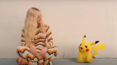 Aquí está 'Electric' con Katy Perry en un videoclip que protagoniza junto a Pikachu y el mundo Pokémon
