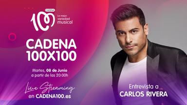 Carlos Rivera nos hablará de sus ídolos en CADENA 100x100 el próximo martes
