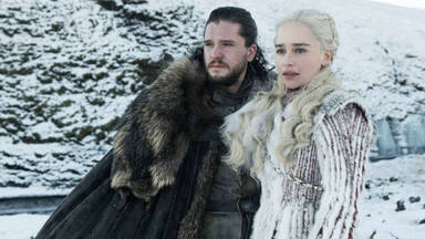 Jon Nieve (Kit Harington) y Daenerys Targaryen (Emilia Clarke) en 'Juego de Tronos'
