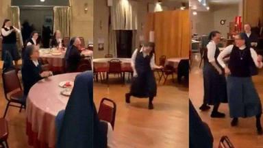 El baile vital de unas monjas a ritmo de 'We will rock you'