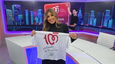 ¿Quieres ganar esta camiseta de CADENA 100 firmada por Verónica Romero?