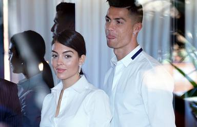 Cristiano Ronaldo y Georgina Rodriguez inauguran centro de injerto capilar en Madrid
