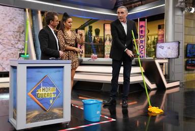 Pedroche vuelve a 'El Hormiguero' y saca el lado más inventor de Juan y Medio