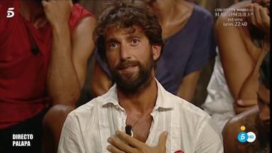 Antonio Pavón, muy afectado al enterarse de que tiene que abandonar 'Supervivientes'