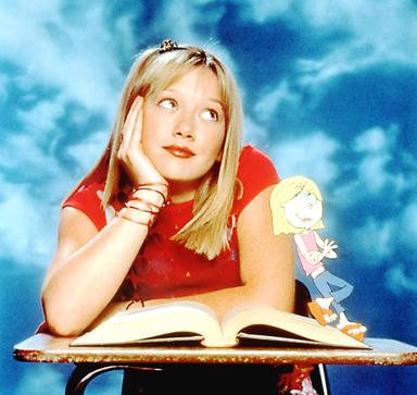 Hilary Duff logró el reconocimiento internacional con la serie Lizzie McGuire (2001-2004)