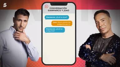 Gianmarco escribió a Joao preguntándole por Adara