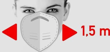 Siete consejos a tener en cuenta para usar correctamente las mascarillas