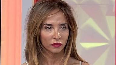 María Patiño muy enfadada
