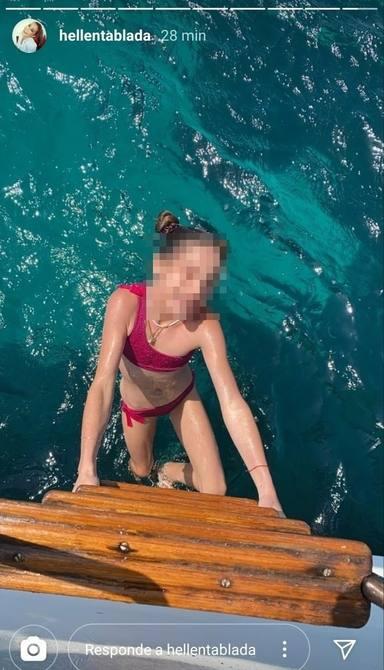 La foto sin pixelar de su hija Ella que ha compartido Elena Tablada