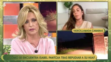 Anabel Pantoja responde a Mila Ximénez