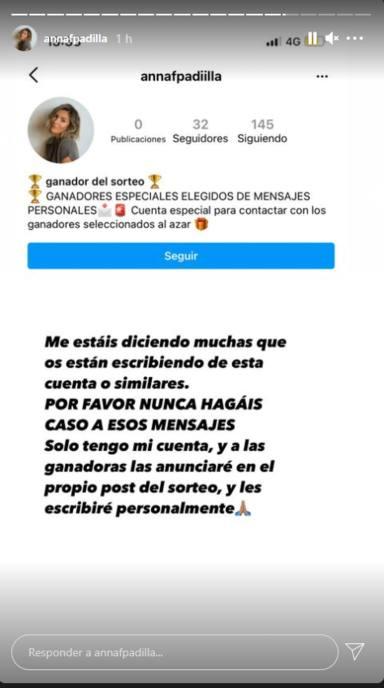 """Anna Ferrer, hija de Paz Padilla, denuncia ser víctima de un delito en internet: """"Por favor…"""""""