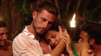 Melyssa y Tom en una gala de 'Supervivientes'
