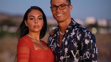 Cristiano Ronaldo y Georgina Rodríguez y la foto que desató rumores de boda