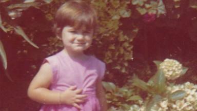 Carlota Corredera durante su infancia