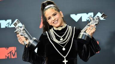 """Rosalía triunfa en los 'MTV Video Music Award' por """"Con altura"""""""