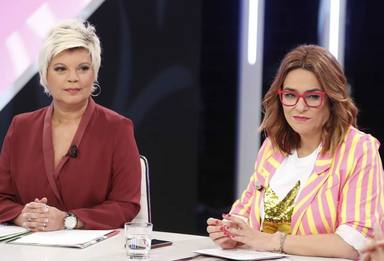Terelu se convierte en presentadora por un día, sustituyendo a Toñi Moreno por problemas de salud