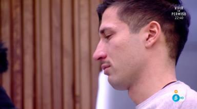 Gianmarco, roto de dolor tras la marcha de Adara y con un secreto a voces que podría arruinar su relación