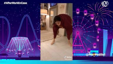 Paz Padilla en uno de sus videos de TikTok