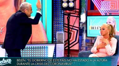 Sálvame Deluxe: Jorge Javier Vázquez discusión Belén Esteban