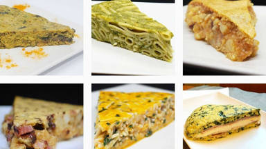 Tortilla de patatas variadas