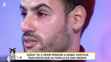 Asraf Beno arrepentido por las acusaciones contra la familia de Isa Pantoja