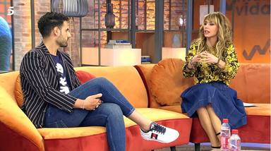 Emma García llama la atención a Asraf Beno en directo