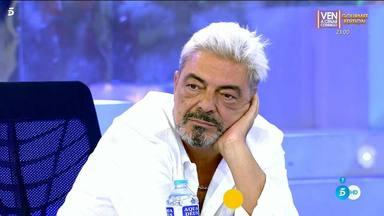 Antonio Canales, destrozado tras su despido fulminante y en directo de Sálvame