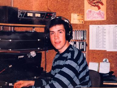 Así eran nuestros compañeros en sus primeros años en la radio