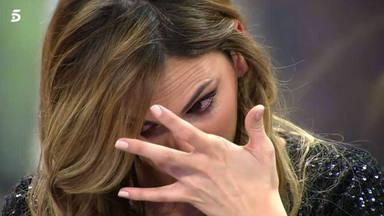 La inesperada reacción de Irene Rosales, que romper a llorar desconsolada, hacen saltar las alertas en Cantora