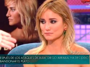 Alba Carrillo en Sálvame Deluxe