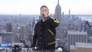 El concert de David Guetta a un terrat de Nova York