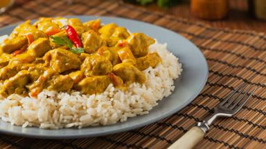 Receta fácil de pollo al curry