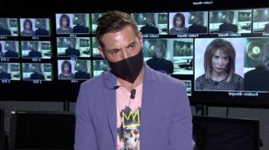 Antonio David enfadado con la entrevista de María Patiño