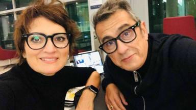 Buenafuente y Silvia Abril