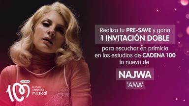 Escucha en primicia lo nuevo de Nawja, 'AMA', en los estudios de CADENA 100