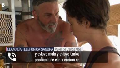 """La mujer de Carlos Alba responde a Alexia Rivas con pullita a Marta López incluida: """"A mí no me lo hace"""