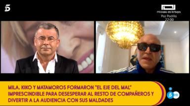 """Kiko Matamoros, derrumbado, confiesa su recuerdo más bonito de Mila Ximénez: """"Estábamos haciendo el imbecil"""