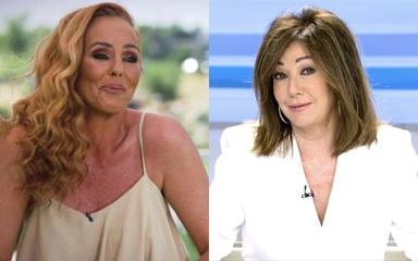 Tensión entre Rocío Carrasco y Ana Rosa Quintana a su llegada a Telecinco: su saludo más esperado
