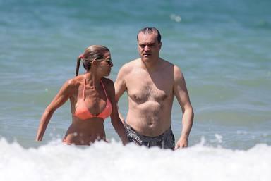 Ramon Garcia junto a su esposa Patricia Cerezo en Cadiz