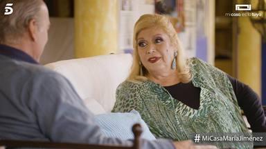 María Jiménez con Bertín Osborne en 'Mi casa es la tuya'
