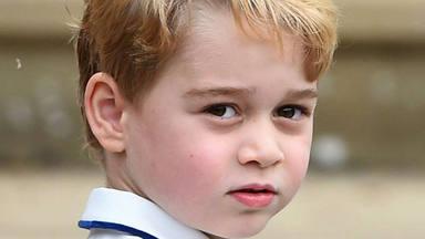 El príncipe George, de Reino Unido, hijo de los duques de Cambridge