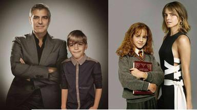 George Clooney y Emma Watson