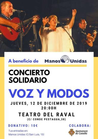"""Concierto del grupo """"Voz y Modos"""""""