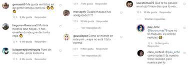 Críticas a Paula Echevarría de fans, segunda parte
