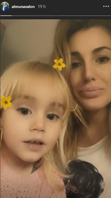 Almudena y Chloe, divertidas en Instagram