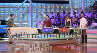 Jorge Fernández presentador de La Ruleta de la Suerte